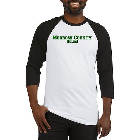 Morrow County Rules! Baseball Jersey