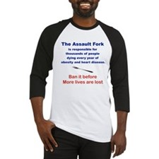 THE ASSAULT FORK Baseball Jersey