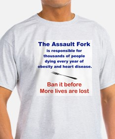 THE ASSAULT FORK T-Shirt