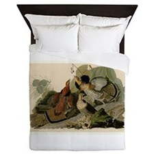 Ruffled Grouse Queen Duvet