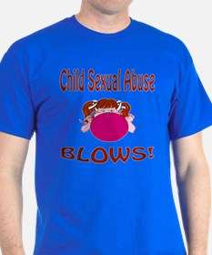 Child Sexual Abuse Blows! T-Shirt
