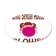 Child Sexual Abuse Blows! Wall Decal