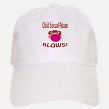 Child Sexual Abuse Blows! Baseball Baseball Cap