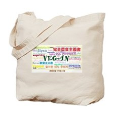 Vegan World Tote Bag