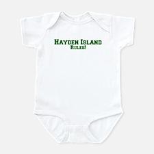 Hayden Island Rules! Infant Bodysuit