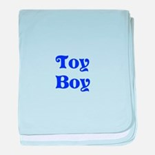 Toy Boy baby blanket