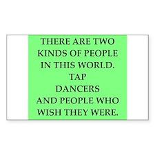 tap dancer Bumper Stickers