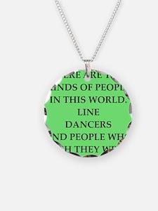 line dancing Necklace