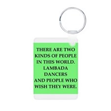 lambada Aluminum Photo Keychain