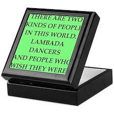 lambada Keepsake Box
