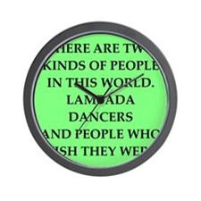 lambada Wall Clock
