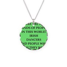 irish Necklace Circle Charm