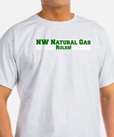 NW Natural Gas Rules! Ash Grey T-Shirt