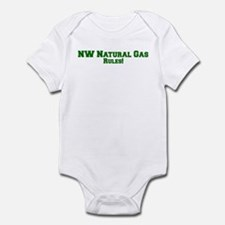 NW Natural Gas Rules! Infant Bodysuit