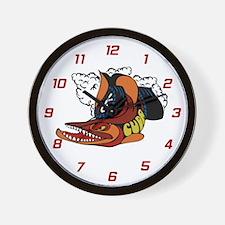 Unique Plymouth barracuda Wall Clock