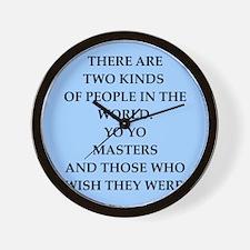 yo yo Wall Clock