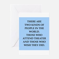 theater Greeting Cards (Pk of 10)