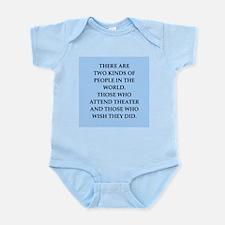 theater Infant Bodysuit