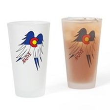 Native WIngs Drinking Glass