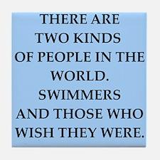 swim Tile Coaster