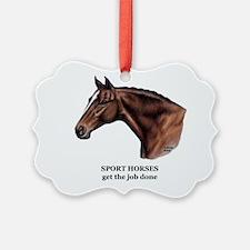 Sport Horse Ornament