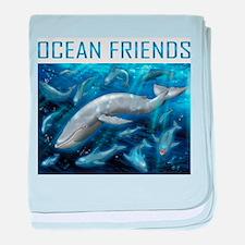 Ocean Friend baby blanket