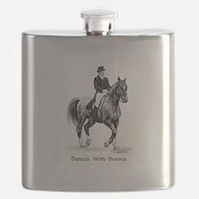 """Sport Horse """"Dressage"""" Flask"""