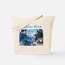 Ocean War Tote Bag