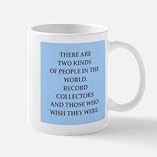 record collector Mug