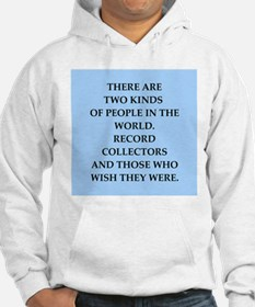 record collector Hoodie