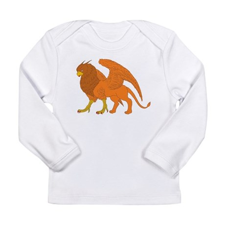 The Lion Eagle Long Sleeve Infant T-Shirt