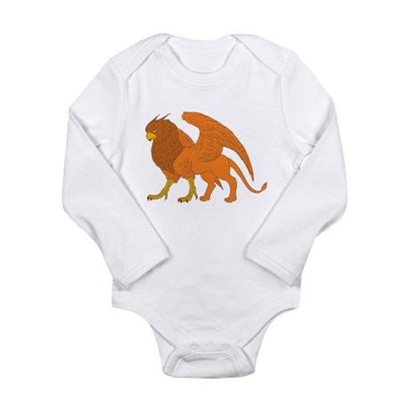 The Lion Eagle Long Sleeve Infant Bodysuit