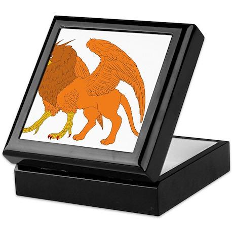 The Lion Eagle Keepsake Box