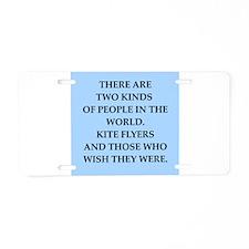 KITE Aluminum License Plate