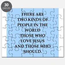 i love jesus Puzzle