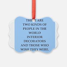 interior decorators Ornament