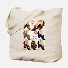1930s Campus Queen Shoes Tote Bag