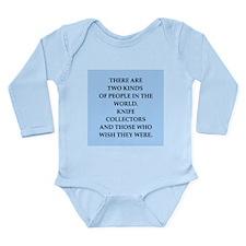 knife Long Sleeve Infant Bodysuit