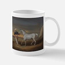 White Arabian Horse Mug