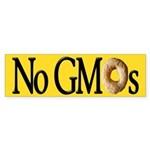 GMO Cheerio Bumper Sticker