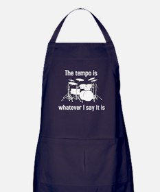 The tempo is Apron (dark)