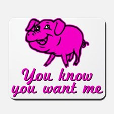Mmm... Pork, pig, bacon, ham, you know you want me
