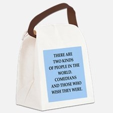 comedian Canvas Lunch Bag