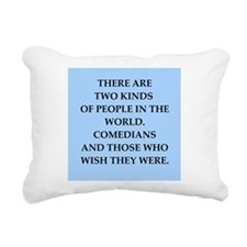 comedian Rectangular Canvas Pillow