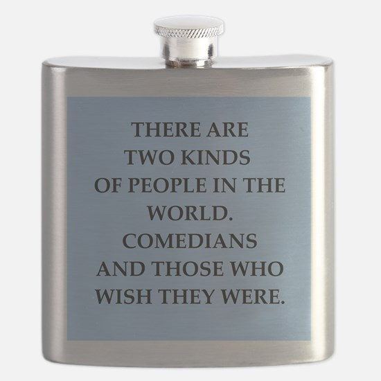 comedian Flask