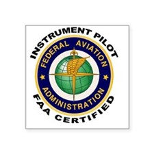 FAA Certified Instrument Pilot Sticker