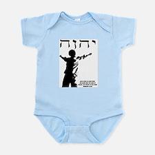 Yahwear Logo With Scripture Infant Bodysuit
