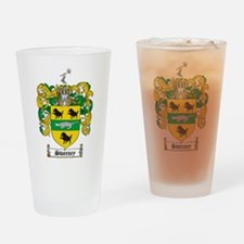 Unique Family crest Drinking Glass