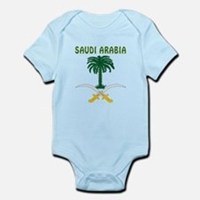 Saudi Arabia Coat of arms Infant Bodysuit