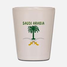 Saudi Arabia Coat of arms Shot Glass